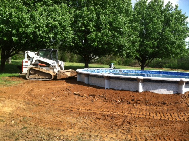 Layout 13 for Above ground pool backfill ideas